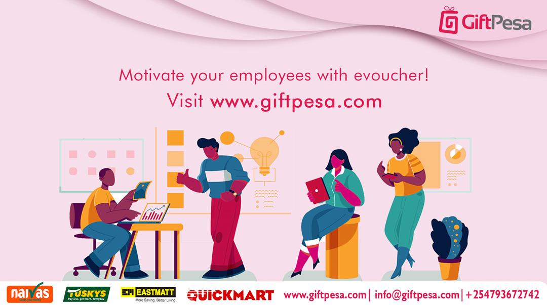 How to reward employees using digital vouchers