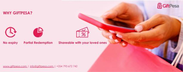 Why Giftpesa e-vouchers